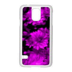 Phenomenal Blossoms Hot  Pink Samsung Galaxy S5 Case (White)