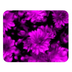 Phenomenal Blossoms Hot  Pink Double Sided Flano Blanket (Large)