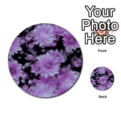 Phenomenal Blossoms Lilac Multi Purpose Cards (round)