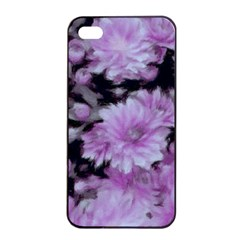 Phenomenal Blossoms Lilac Apple iPhone 4/4s Seamless Case (Black)