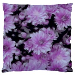 Phenomenal Blossoms Lilac Large Cushion Cases (One Side)