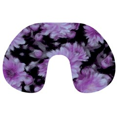 Phenomenal Blossoms Lilac Travel Neck Pillows