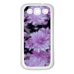 Phenomenal Blossoms Lilac Samsung Galaxy S3 Back Case (White)