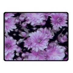 Phenomenal Blossoms Lilac Double Sided Fleece Blanket (Small)