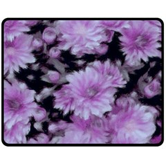 Phenomenal Blossoms Lilac Double Sided Fleece Blanket (medium)