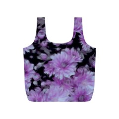 Phenomenal Blossoms Lilac Full Print Recycle Bags (s)
