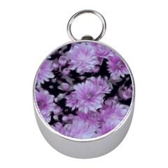 Phenomenal Blossoms Lilac Mini Silver Compasses