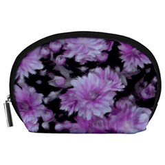 Phenomenal Blossoms Lilac Accessory Pouches (Large)