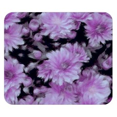 Phenomenal Blossoms Lilac Double Sided Flano Blanket (small)