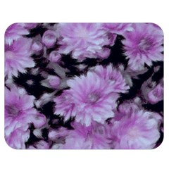 Phenomenal Blossoms Lilac Double Sided Flano Blanket (Medium)