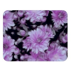 Phenomenal Blossoms Lilac Double Sided Flano Blanket (Large)