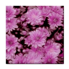 Phenomenal Blossoms Pink Tile Coasters