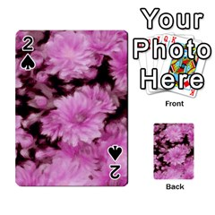 Phenomenal Blossoms Pink Playing Cards 54 Designs