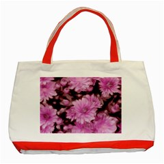 Phenomenal Blossoms Pink Classic Tote Bag (red)