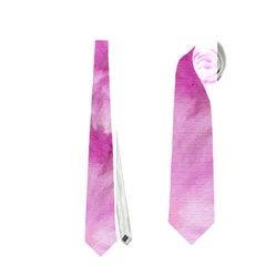 Phenomenal Blossoms Pink Neckties (one Side)