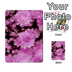 Phenomenal Blossoms Pink Multi Purpose Cards (rectangle)