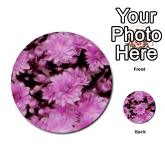 Phenomenal Blossoms Pink Multi-purpose Cards (Round)