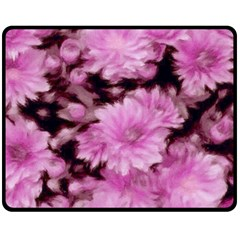 Phenomenal Blossoms Pink Fleece Blanket (Medium)