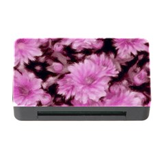 Phenomenal Blossoms Pink Memory Card Reader With Cf
