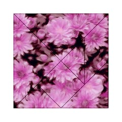 Phenomenal Blossoms Pink Acrylic Tangram Puzzle (6  X 6 )