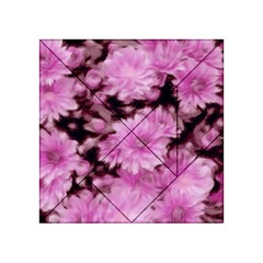 Phenomenal Blossoms Pink Acrylic Tangram Puzzle (4  x 4 )
