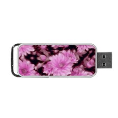 Phenomenal Blossoms Pink Portable USB Flash (One Side)