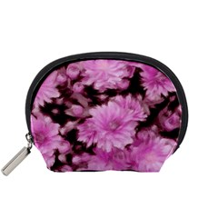 Phenomenal Blossoms Pink Accessory Pouches (small)