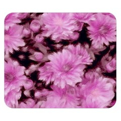 Phenomenal Blossoms Pink Double Sided Flano Blanket (small)