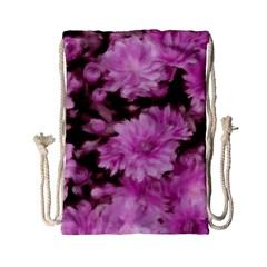 Phenomenal Blossoms Pink Drawstring Bag (Small)