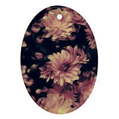 Phenomenal Blossoms Soft Oval Ornament (Two Sides)