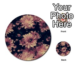 Phenomenal Blossoms Soft Multi-purpose Cards (Round)