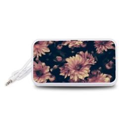 Phenomenal Blossoms Soft Portable Speaker (White)