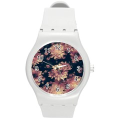 Phenomenal Blossoms Soft Round Plastic Sport Watch (M)