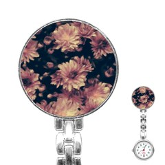 Phenomenal Blossoms Soft Stainless Steel Nurses Watches