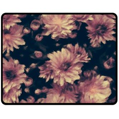Phenomenal Blossoms Soft Double Sided Fleece Blanket (Medium)