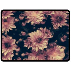 Phenomenal Blossoms Soft Double Sided Fleece Blanket (large)