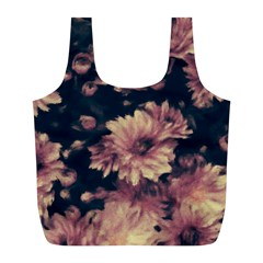Phenomenal Blossoms Soft Full Print Recycle Bags (L)