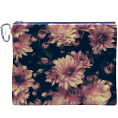 Phenomenal Blossoms Soft Canvas Cosmetic Bag (XXXL)