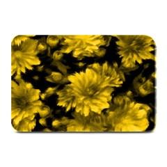 Phenomenal Blossoms Yellow Plate Mats