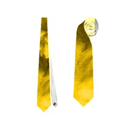 Phenomenal Blossoms Yellow Neckties (two Side)
