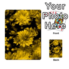 Phenomenal Blossoms Yellow Multi-purpose Cards (Rectangle)