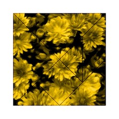 Phenomenal Blossoms Yellow Acrylic Tangram Puzzle (6  X 6 )