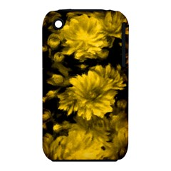 Phenomenal Blossoms Yellow Apple iPhone 3G/3GS Hardshell Case (PC+Silicone)