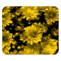 Phenomenal Blossoms Yellow Double Sided Flano Blanket (small)