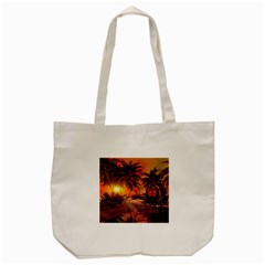 Wonderful Sunset In  A Fantasy World Tote Bag (Cream)