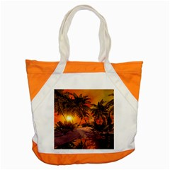 Wonderful Sunset In  A Fantasy World Accent Tote Bag