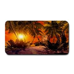 Wonderful Sunset In  A Fantasy World Medium Bar Mats
