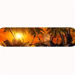 Wonderful Sunset In  A Fantasy World Large Bar Mats