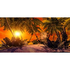 Wonderful Sunset In  A Fantasy World You Are Invited 3d Greeting Card (8x4)