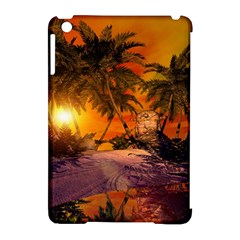 Wonderful Sunset In  A Fantasy World Apple iPad Mini Hardshell Case (Compatible with Smart Cover)